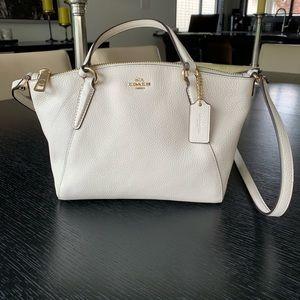 Coach mini Kelsey satchel crossbody bag.